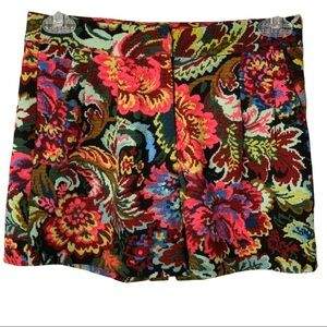 Mittoshop High Waisted Floral Shorts